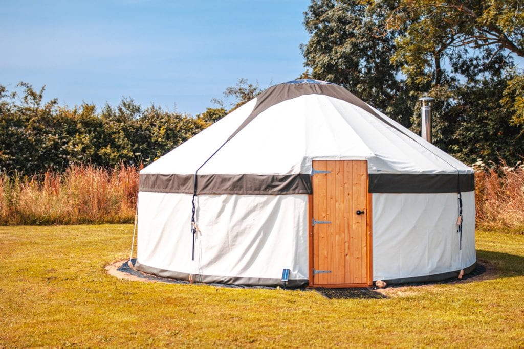 One of our best yurts