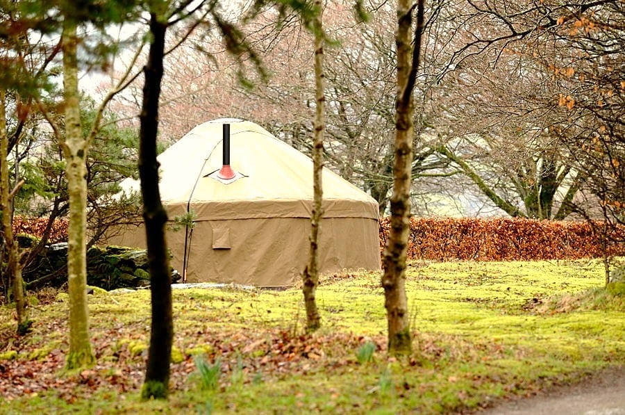Best Woodland Yurts