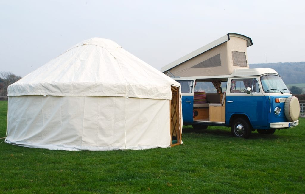 The best yurts by Woodland Yurts