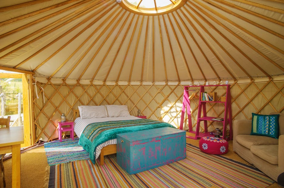 Woodland Yurts