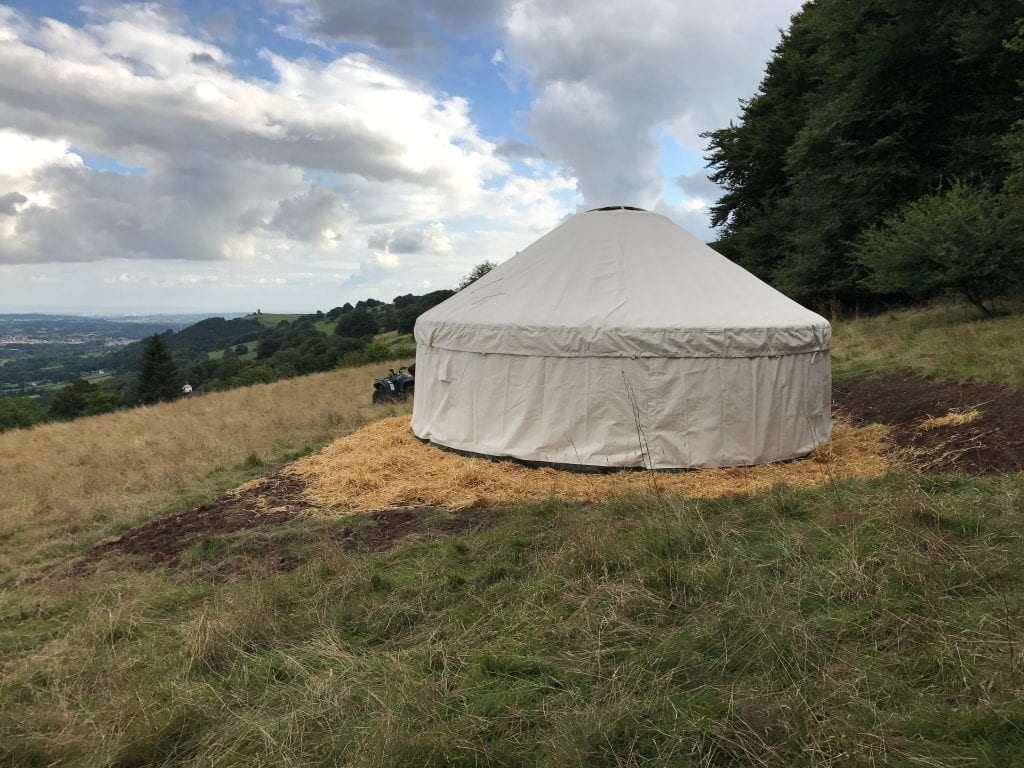 An example from Woodland Yurts