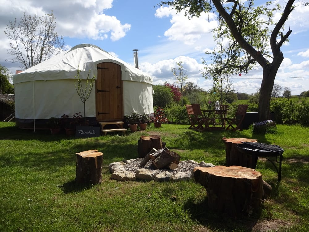 Buying a yurt for a campsite
