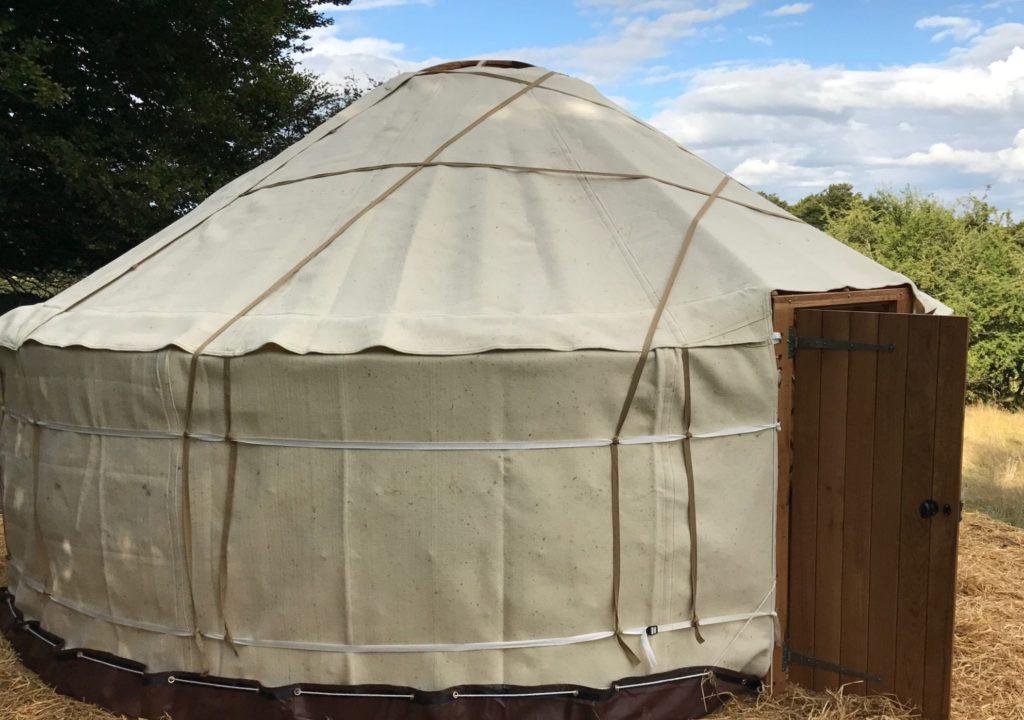 Yurt felt layer