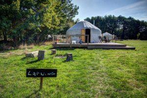 yurt holiday in Norfolk