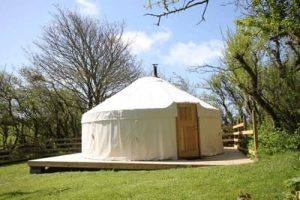 yurt holiday in Anglesey