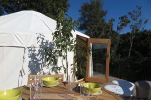 yurt holiday in Scotland