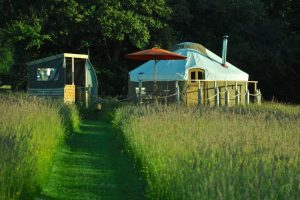 yurt holiday in Black Mountains