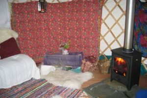 yurt holiday in Pembrokeshire
