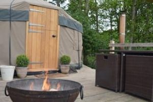 yurt holiday in Yorkshire Dales